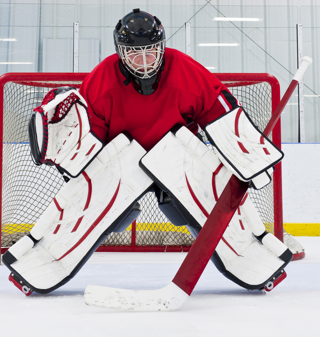 dating a hockey goalie The new jersey devils goalie agreed to a date songwriter, taylor acorn, took her shot with nhl goalie keith kinkaid last week and scored.